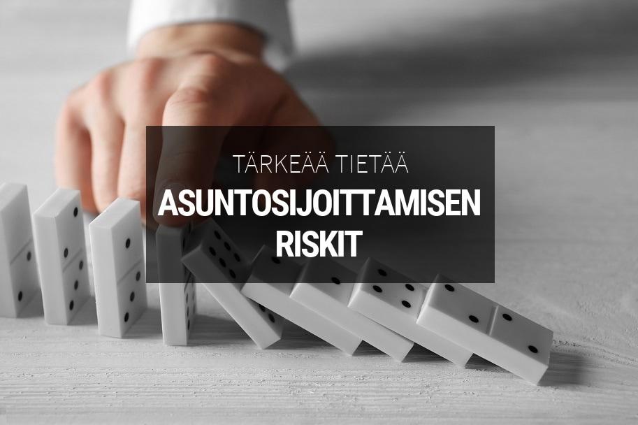 Asuntosijoittamisen riskit ja niiden hallinta