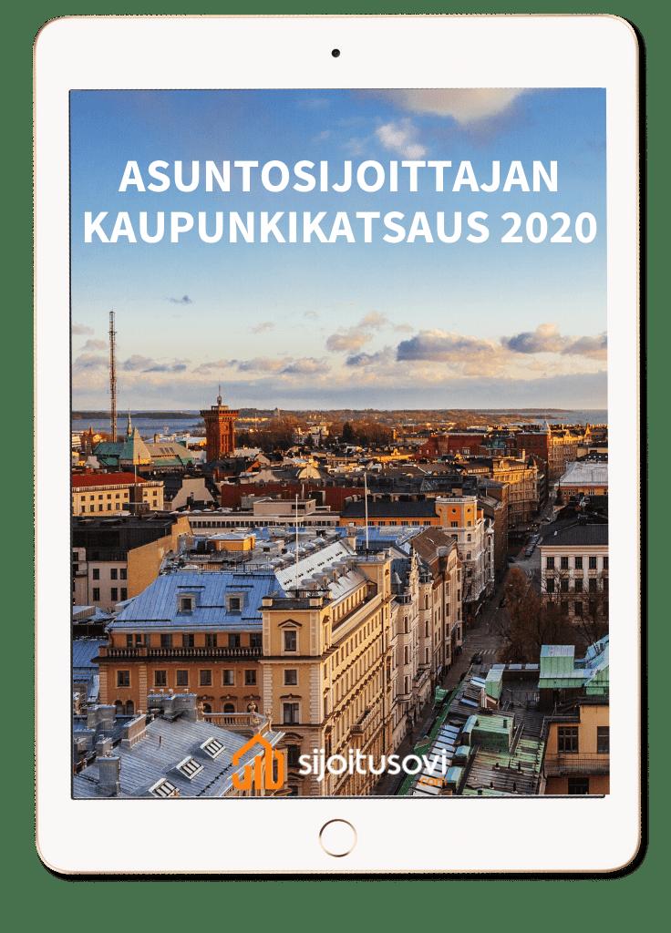 asuntosijoittajan kaupunkikatsaus 2020